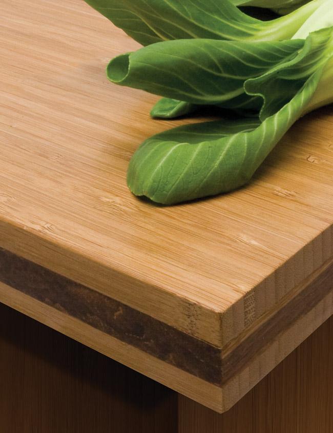 Traditional Bamboo Countertop