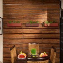 Java strand bamboo panels by Teragren Inc.